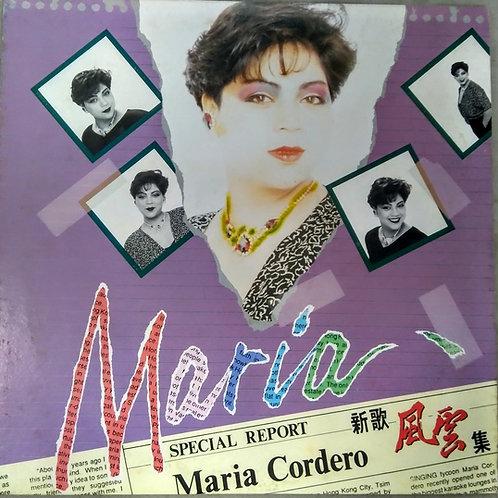 Maria Cordero  新歌風雲集