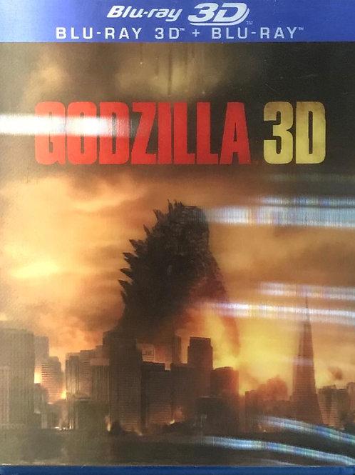 Godzilla 哥斯拉 2D + 3D Blu-Ray