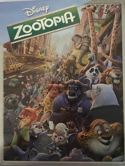 Zootopia 優獸大都會  (Blu-ray) (鐵盒裝)