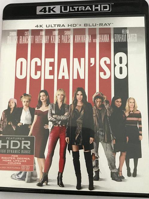 Ocean's 8 盜海豪情: 8美千嬌 4K UHD + Blu-Ray