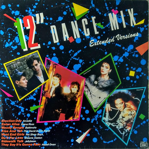 """Various – 12"""" Dance Mix Extended Versions"""