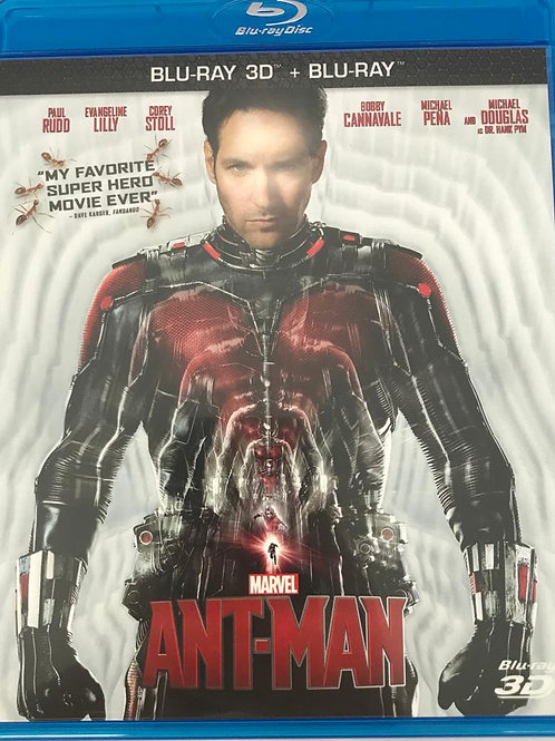Ant-Man 蟻俠 3D Blu-Ray (Hong Kong Version)