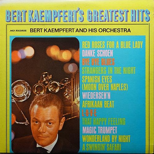 Bert Kaempfert And His Orchestra* ‎– Bert Kaempfert's Greatest Hits(MINT)