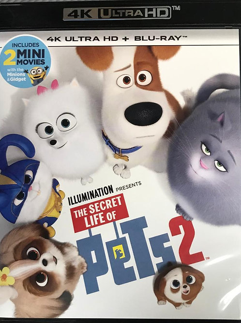 The Secret Life of Pets 2  PET PET當家 2  4K UHD + Blu-Ray