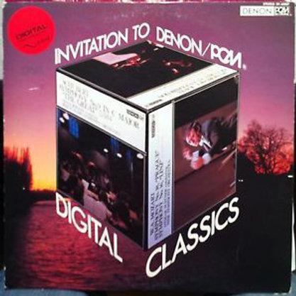 Various – Invitation To Denon / PCM Digital Classics