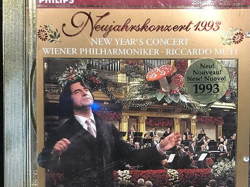 Wiener Philharmoniker, Riccardo Muti – Concerto di Capodanno 1993