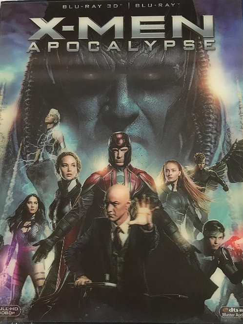 X-Men Apocalypse 變種特攻: 天啟滅世戰 2D + 3D Blu-Ray (Hong Kong Version)