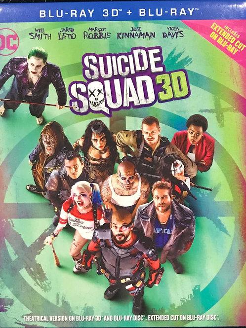 Suicide Squad 自殺特攻: 超能暴隊 2D + 3D Blu-Ray