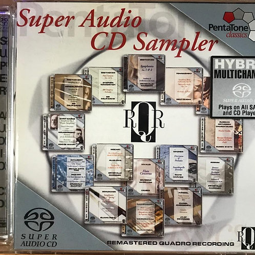 Various – Super Audio Cd Sampler - RQR