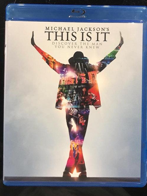 Michael Jackson – This Is It(HK Version Blu ray)