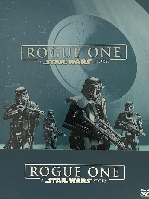 Rogue one Star Wars 俠盜一號 Blu ray (2D + 3D+Bonus 鐵盒裝)