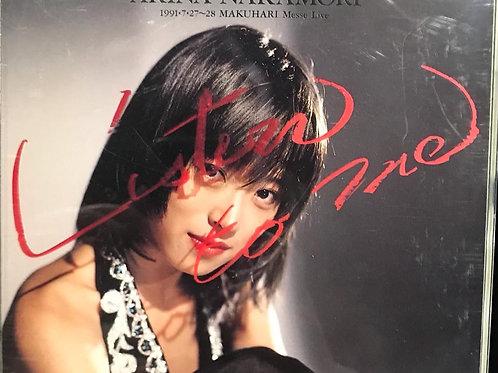 中森明菜 Akina Nakamori – Listen To Me(2CD)