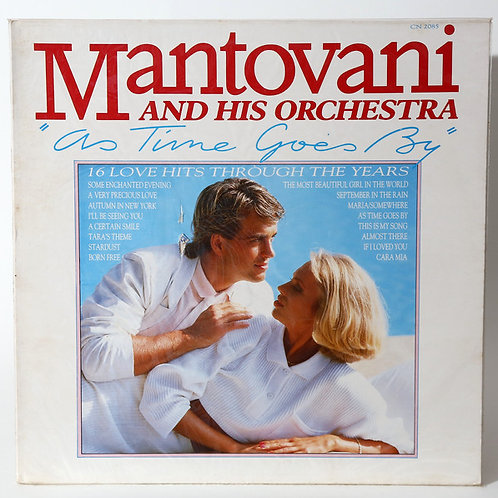 Mantovani And His Orchestra – As Time Goes By(MINT)