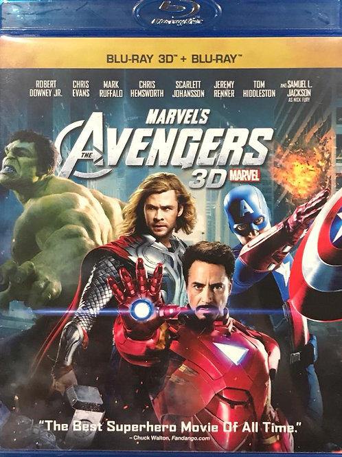 The Avengers 復仇者聯盟 2D + 3D Blu-Ray
