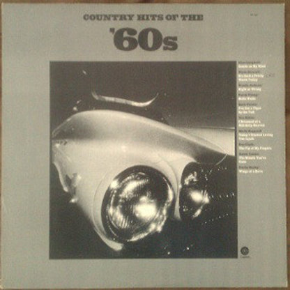Various ‎– Country Hits Of The '60s