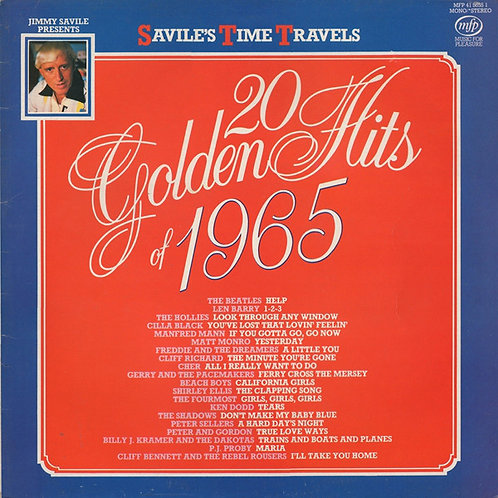Various – 20 Golden Hits Of 1965