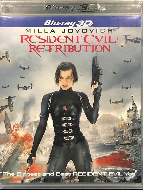Resident Evil: Retribution 生化危機之滅絕真相 Blu-Ray 2D + 3D 2-disc
