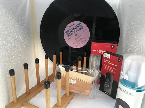 黑膠唱片護理及唱針清潔套裝 (共5件)-特價HK$399