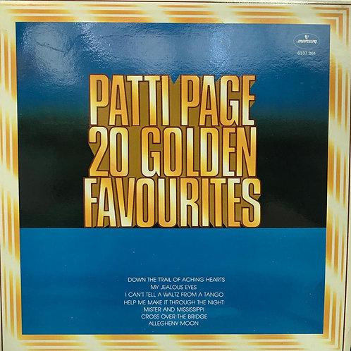 Patti Page - 20 Golden Favourites
