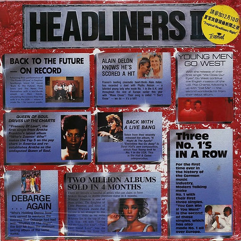 Various – Headliners III