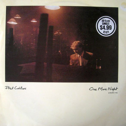 Phil Collins – One More Night (Extended Mix)45RPM