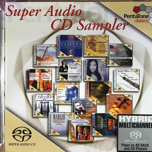 Various – Super Audio CD Sampler