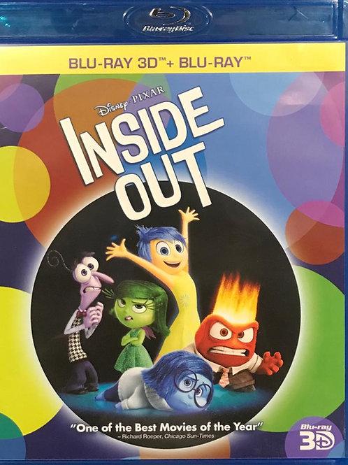 Inside Out 3D Blu-Ray  玩轉腦朋友