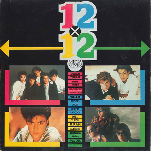 Various ‎– 12x12 (Mega Mixes)(2LP)