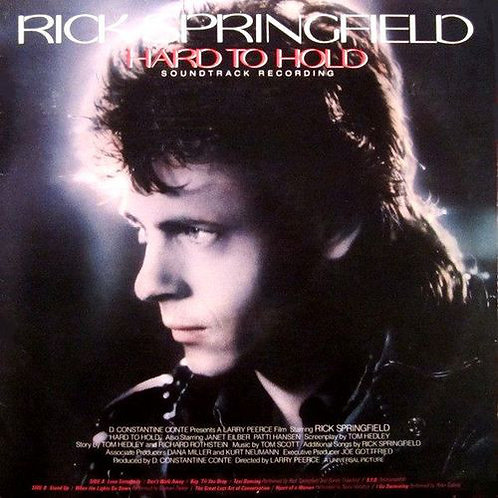 Rick Springfield ‎– Hard To Hold - Soundtrack Recording(MINT)