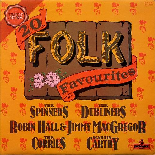 Various – 20 Folk Favourites