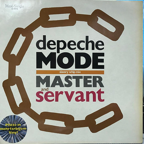 Depeche Mode – Master And Servant (Slavery Whip Mix)