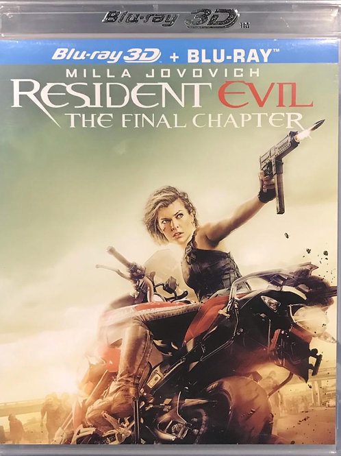 Resident Evil: The Final Chapter 生化危機: 終極屍殺 Blu-Ray