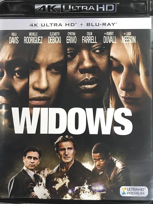 Widows 剋. 寡婦 4K UHD + Blu-Ray