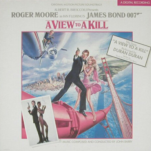 John Barry ‎– A View To A Kill (Original Motion Picture Soundtrack)