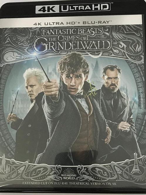 Fantastic Beasts The Crimes Of Grindelwald 怪獸與葛林戴華德之罪 4K UHD + Blu-Ray