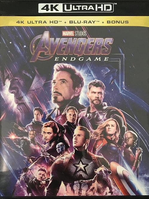 Avengers: Endgame 復仇者聯盟4: 終局之戰 4K UHD + Blu-Ray (Hong Kong Version)