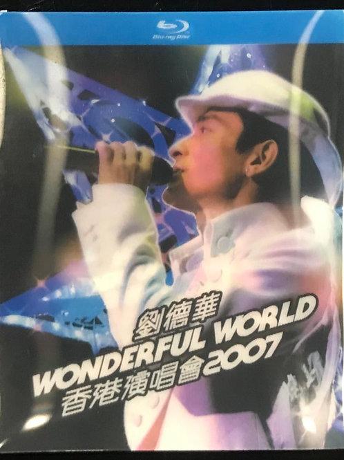 劉德華 Wonderful World 香港演唱會2007 Karaoke Live (Blu-ray)