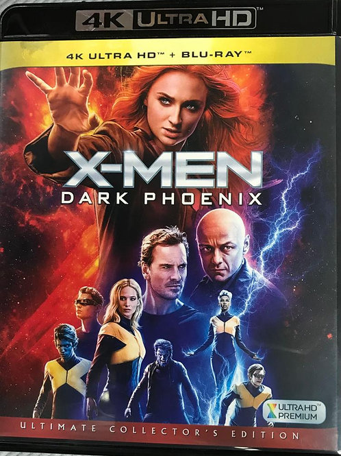 X-Men: Dark Phoenix 變種特攻: 黑鳳凰 4K