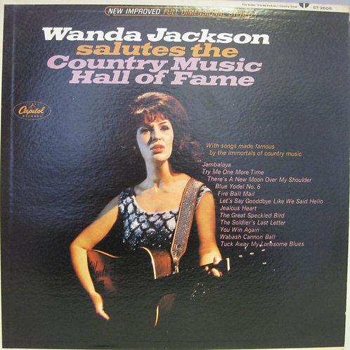 Wanda Jackson – Wanda Jackson Salutes The Country Music Hall Of Fame(MINT)