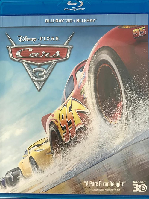 Cars 3 2D + 3D Blu-Ray  反斗車王3 (Hong Kong Version)