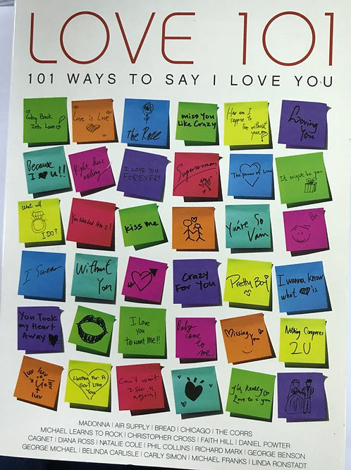 Love 101 - 101 Ways To Say I Love You(6CD)