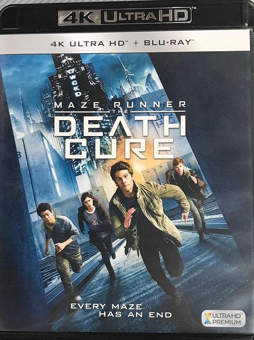 Maze Runner: The Death Cure 移動迷宮: 死亡解藥 4K UHD + Blu-Ray