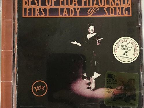 Ella Fitzgerald – Best Of Ella Fitzgerald: First Lady Of Song
