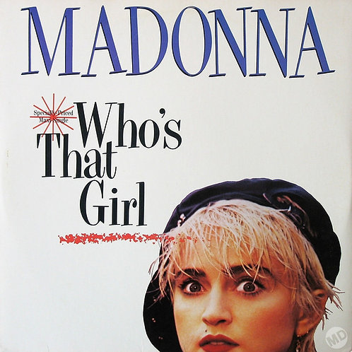 Madonna ‎– Who's That Girl(Specially Priced Maxi- Single)