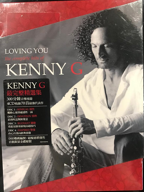 Kenny G – Loving You The Complete Hits of Kenny G(4CD/MINT)