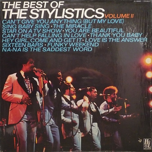 The Stylistics ‎– The Best Of The Stylistics Volume II