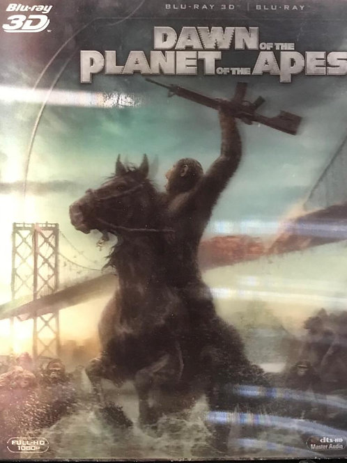 Dawn Of The Planet Of The Apes 2D + 3D Blu-Ray猿人爭霸戰: 猩凶崛起