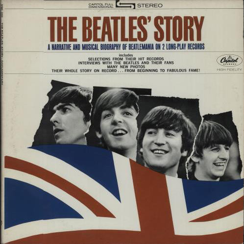 The Beatles ‎– The Beatles' Story(2XLP)