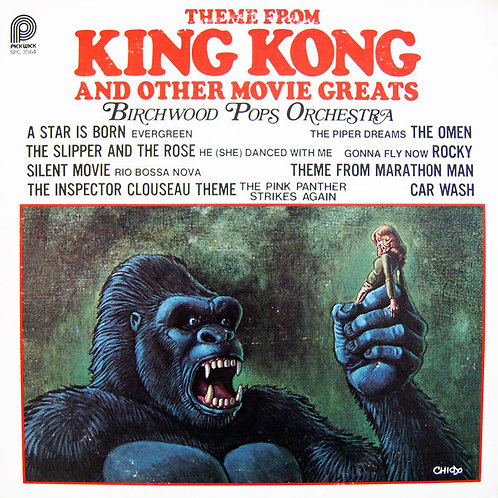 The Birchwood Pops Orchestra ‎– Theme From King Kong And Other Movie Greats
