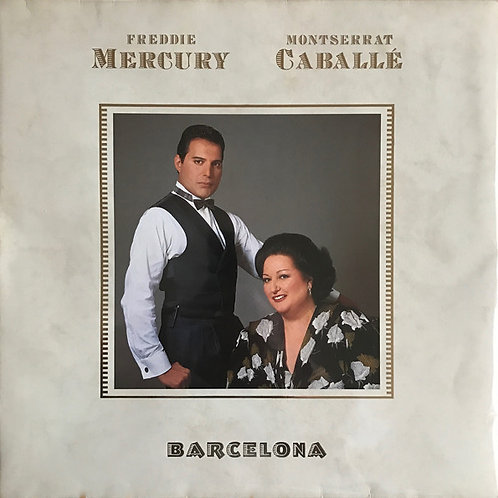 Freddie Mercury & Montserrat Caballé – Barcelona